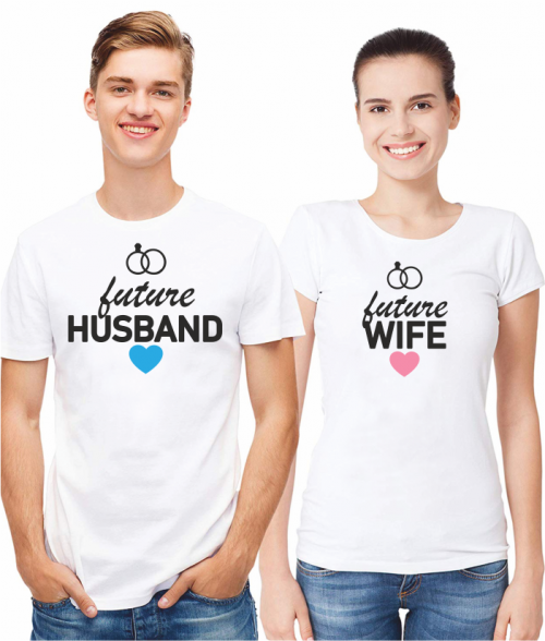 FUTURE HUSBAND AND WIFE - WHITE