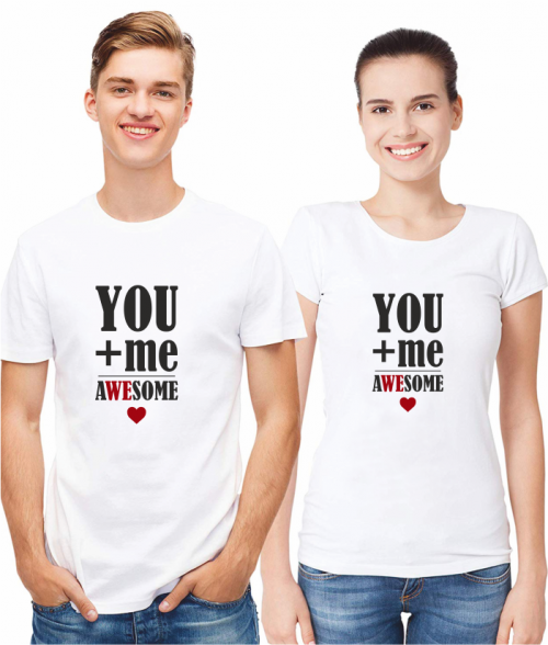 YOU AND ME - WHITE